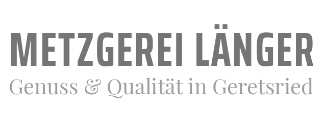 Metzgerei Länger Logo